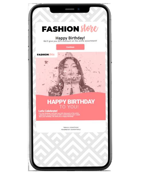 Marketingplatform voor verjaardagen
