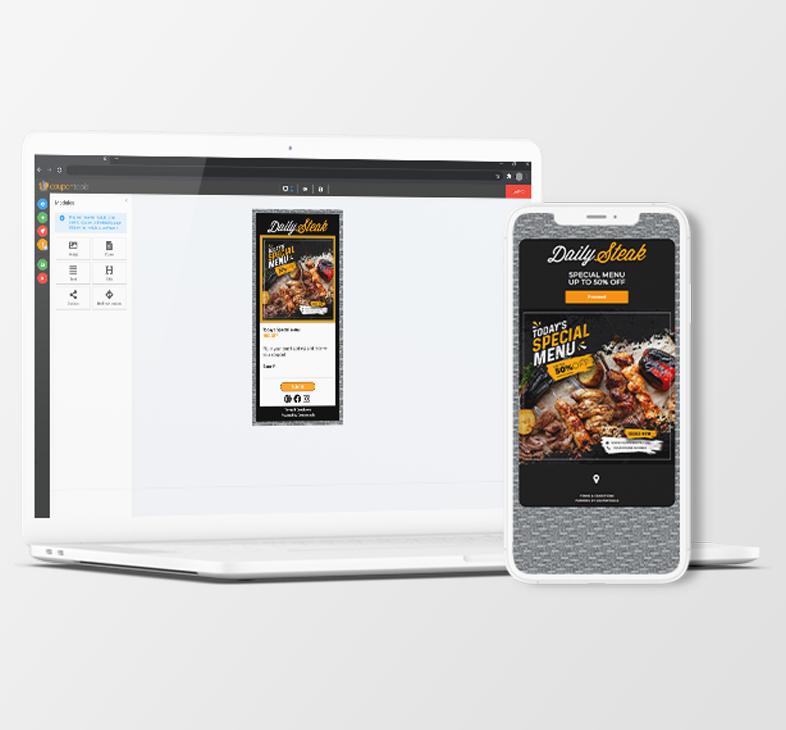 Digital Payment Voucher on a smartphone.