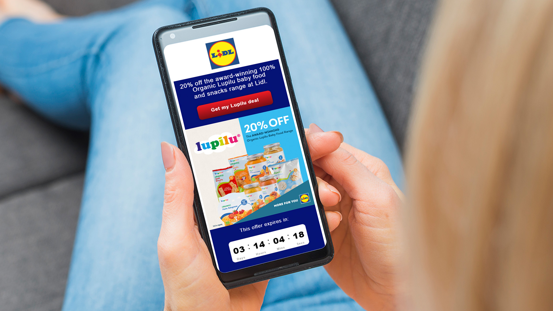 Lidl - Mother's Day  use case image