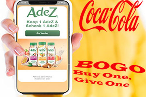 Coca Cola's BOGO-campaign use case