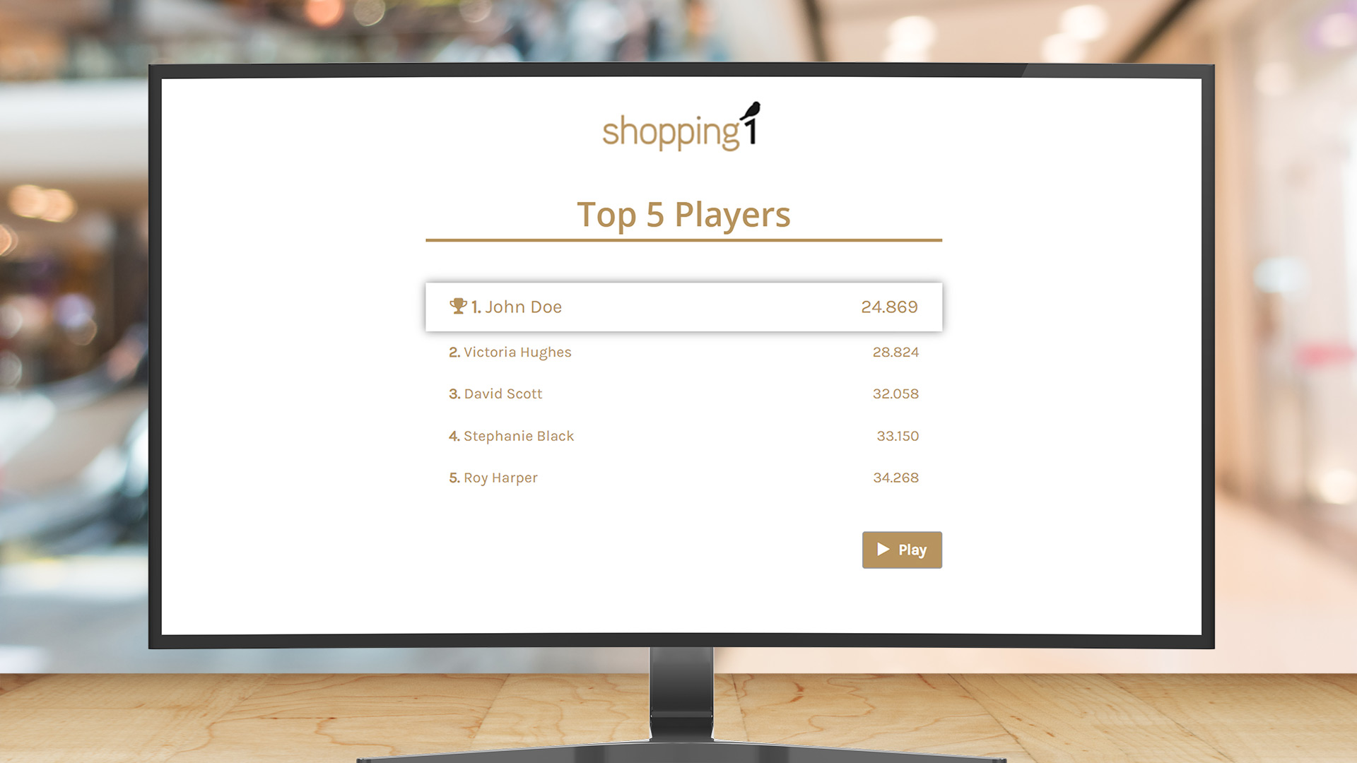 shopping center gamification use case image