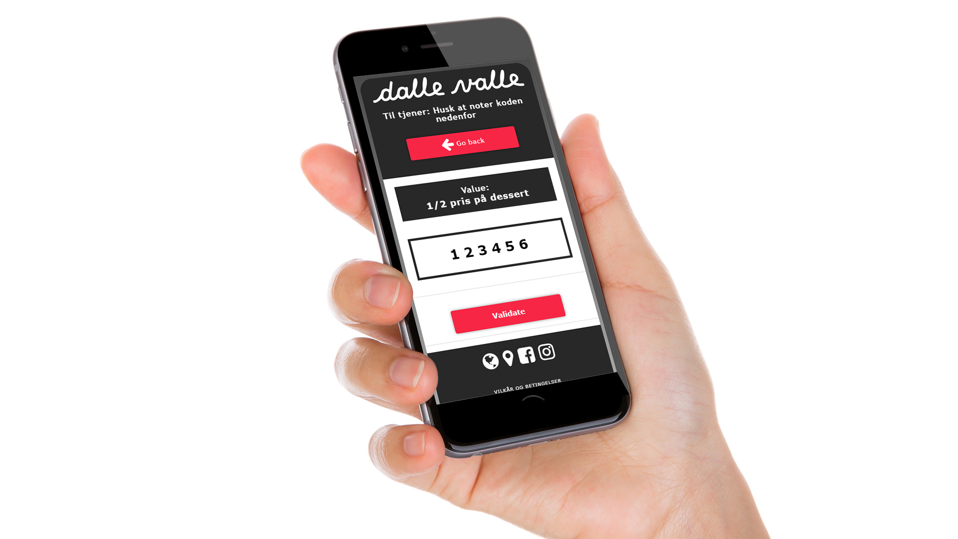 dalle valle app use case image