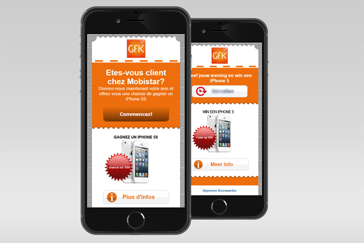 Mobile surveys for GFK use case image