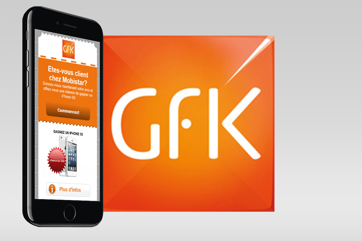Mobile surveys for GFK use case