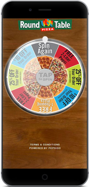 PepsiCo & Round Table Pizza  use case image