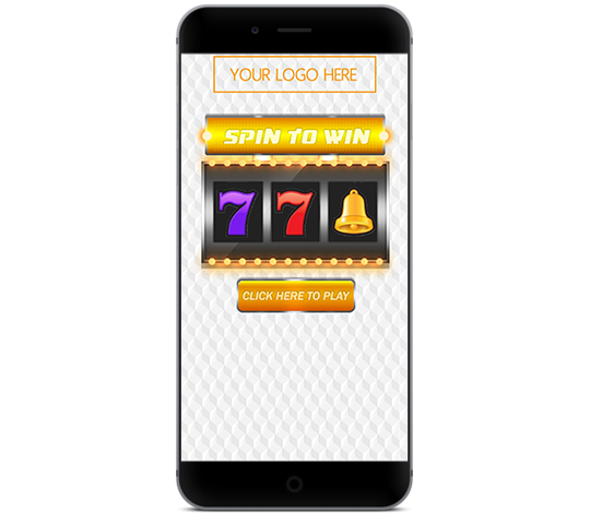 Digital Slot Machine Coupon on a smartphone.