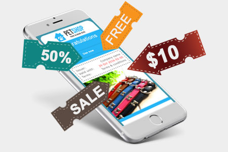 Mobile marketing software
