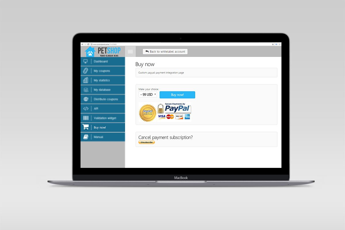 Payment integrations